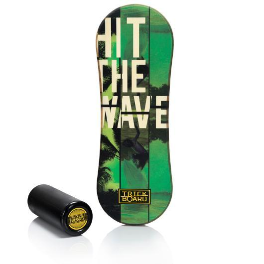 Trickboard Classic Balance Board Hit The Wave TÜV Rheinland safety and quality certificate